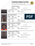 Peoria County Jail Booking Sheet for the July 30, 2016