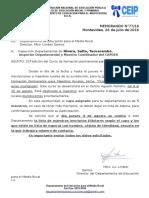 Memo 77 Inscripciones Curso 31a Edic. Form Permanente
