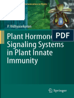 Plant Hormone Signaling Systems in Plant Innate Immunity H