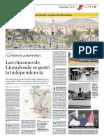 Los Rincones de Lima Donde Se Gestó La Independencia