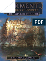 [Preview] Torment Tides of Numenera, The Explorer's Guide