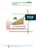 Modulo IV. Evaluacion