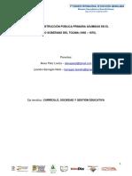 Políticas de Instrucción Pública Primaria asumidas en el Estado Soberano del Tolima (1868 – 1876).