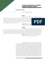 a política educacional no governo Fernando Henrique Cardoso