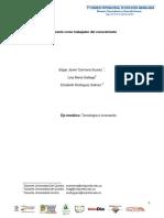 El docente como trabajador del conocimiento- Edgar Carmona, Elizabeth Rodríguez