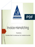 Microsoft PowerPoint - Invoice Mismatching New1