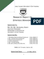 Strategic Research Report