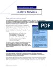 TWIC Report 2006 Employer Services