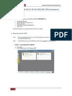 DFD Update Procedure