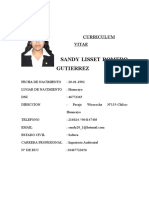 Curriculum Sandy RAMOS