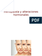 Menopausia y alteraciones hormonales