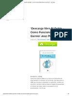 'Descarga Libro El Doble - Como Funciona PDF de Garnier Jean Pierre' - Los Libros