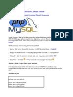 Membangun Koneksi PHP MySQL Dengan Android