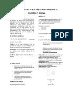 Proyecto Integrador Sobre Analisis de Rectas y Curvas Calculo