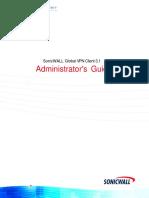 Sonicwall GVC 3.1 Administrators Guide