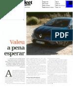 "NOVO RENAULT MÉGANE NA ""FLEET MAGAZINE"".pdf"