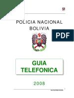 7471285 Guia Telefonica de La Policia Nacional