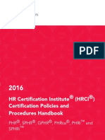 Hrci Certification Policies and Procedures Handbookec1f78f4dff26ff58685ff01005b1bf3