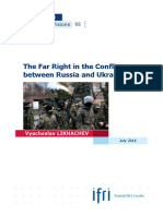 The Far Right in the Conflict between Russia and Ukraine