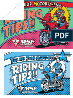 Street Motorcycle Tips