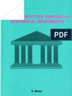 Nondestructive Testing on Historical Monuments