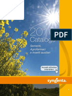 Syngenta Italia Catalogo Generale 2016