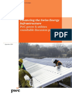 Pwc Financing the Swiss Energy Infrastructure e