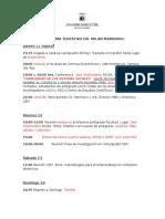 Programa Invitacion Dr. Marinovic