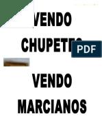 Vendo Chupe