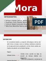 Diapositivas de Mora