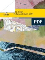 Art Design 2017 Student Guide Postgraduate Web