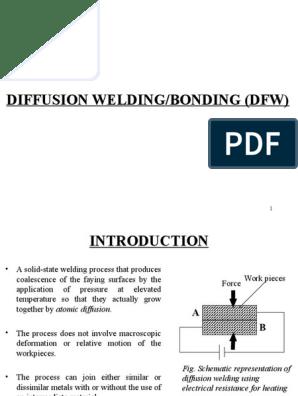 Diffusion Welding   Welding   MetalsScribd