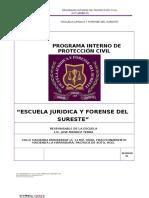 Plan de Contingencias Escuela Juridica y Forense 2015