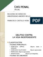 Delitos Contra La Vida Independiente, Vida Dependiente, Integridad Física y Salud Individual