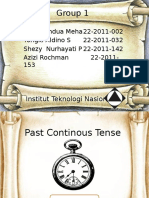 Presentasi Past Continous Fix