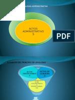 PRINCIPIOS DE LEGALIDAD ADMINISTRATIVA TEORIA DE LAS CIRCUNSTANCIAS EXCEPCIONALES