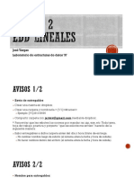 2 - Sesion2 EDD_lineales