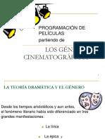 Géneros Dramáticos y Cine