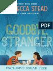 Goodbye Stranger Chapter Sampler