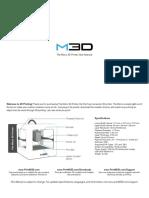 M3D Manual
