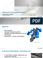 Simulation Mechanical 2015 Sales Presentation