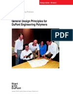 General Design Principles for Engineering Polymers