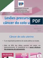 Lesões Precursoras e Câncer Do Colo Uterino