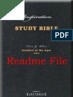 Inspiration Bible—Readme