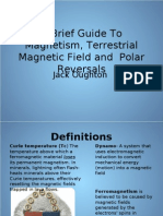 Jack Oughton - Planetary Science Presentation - A Brief Guide To Terrestrial Magnetism and Field Reversals