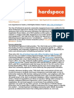 Portland Police Bureau Non-Compliance with DOJ settlement agreement