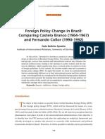 Italo Beltrão Sposito- Foreign Policy Change in Brazil
