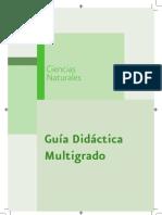 C-Naturales Guia Multigrado