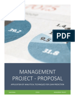 Management Project Proposal - Kartik Mehta - 15A2HP441