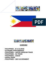 Overview of the Philippine Economy